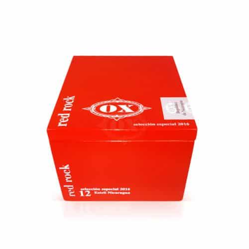 OX Red Rock cigar box